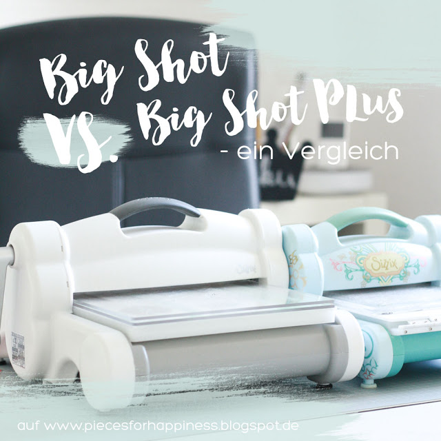 Big Shot vs. Big Shot Plus – ein Vergleich der Zaubermaschinen