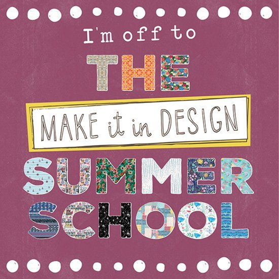 Ich nehme an der Summer School von Make it in Design teil. Challenges rund ums Thema Pattern Design.