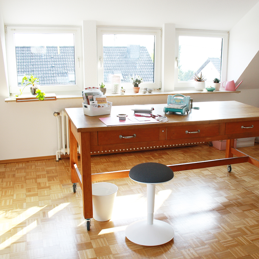 Home-Office – mein Basteltisch
