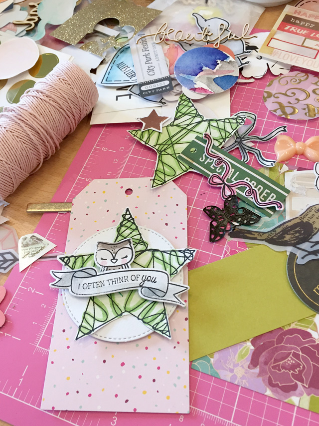 Crop in den Mai 2016 | Scrapbooking-Event | Bastelprojekt | piecesforhappiness.de