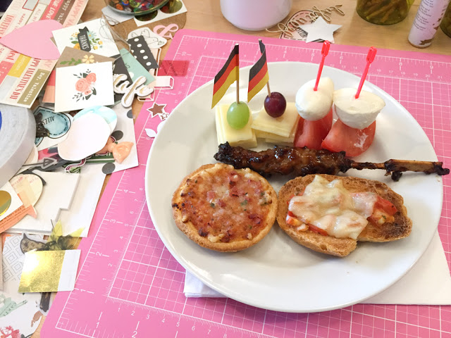 Crop in den Mai 2016 | Scrapbooking-Event | Finger Food | piecesforhappiness.de